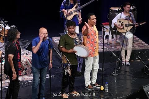 با اضافه شدن محمد بحرانی گروه لیان در لندن كنسرت می دهد، حضور در یك فستیوال جهانی Image
