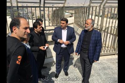 مدیر عامل جدید بنیاد رودكی از برج آزادی بازدید كرد Image