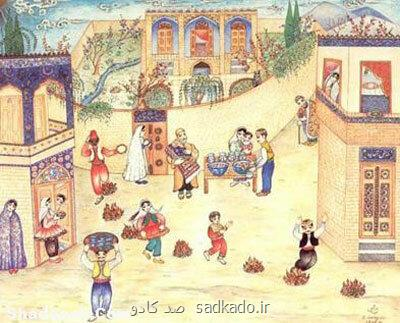 رسم دیرین ایرانی ها در چهارشنبه سوری Image